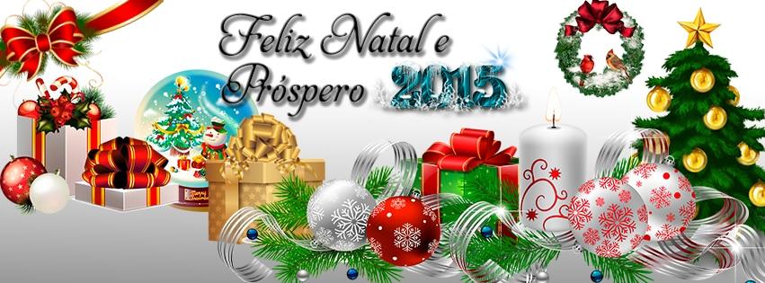 FELIZ NATAL E UM PRÓSPERO 2015